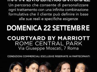 evento rhea costetics 22 settembre roma