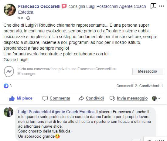 Testimonianza Francesca Ceccarelli per Luigi Postacchini